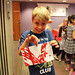 Mon, 2018/07/16 - 2:37pm - The TD Summer Reading Club's Paint Peril was held at the Bowmanville Branch on Monday, July 16, 2018!  Families were able to sling paint and create patterns with gravity by engineering a giant pendulum!