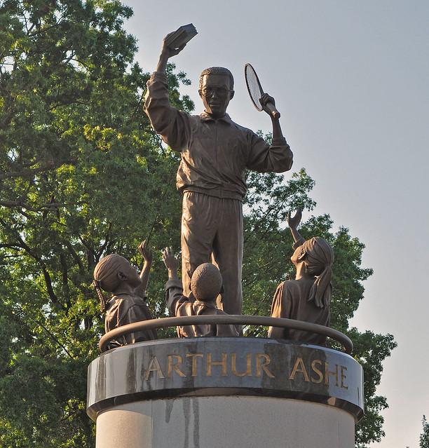 Arthur Ashe Monument (3)
