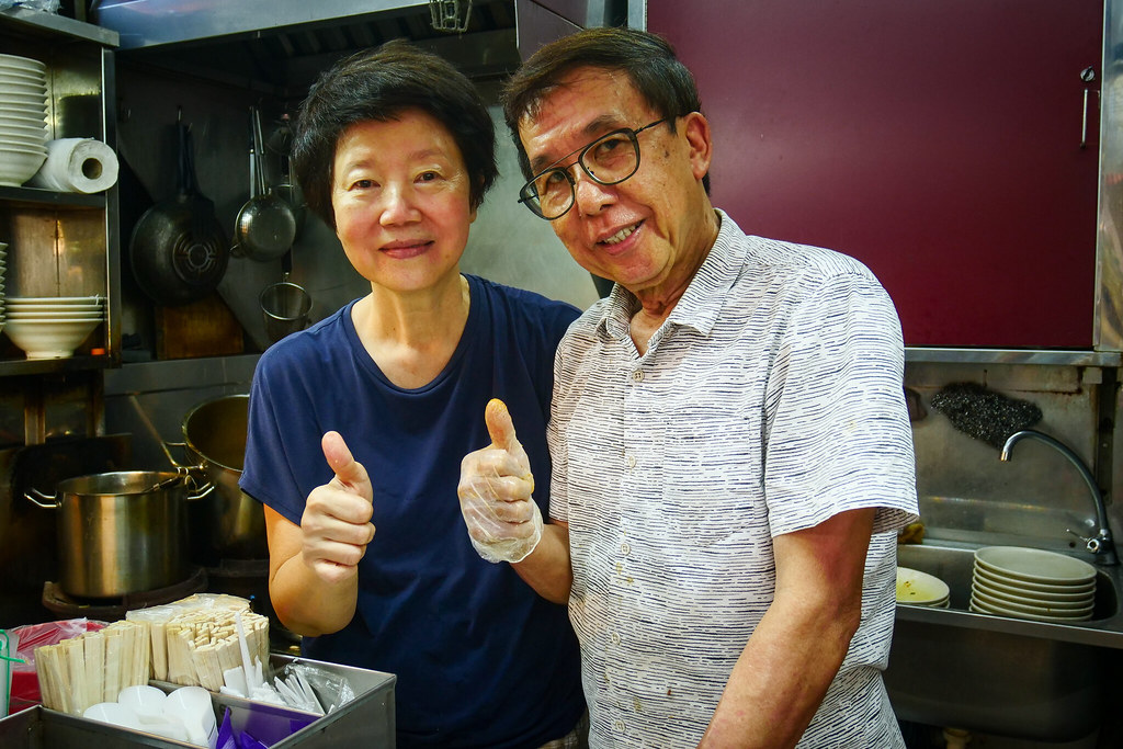 Famous Sungei Road Trishaw Laksa - Stall Owners