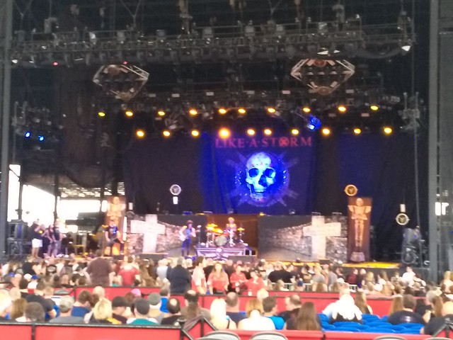 2018-07-24 Shinedown/Godsmack/Like A Storm @ Darien Lake