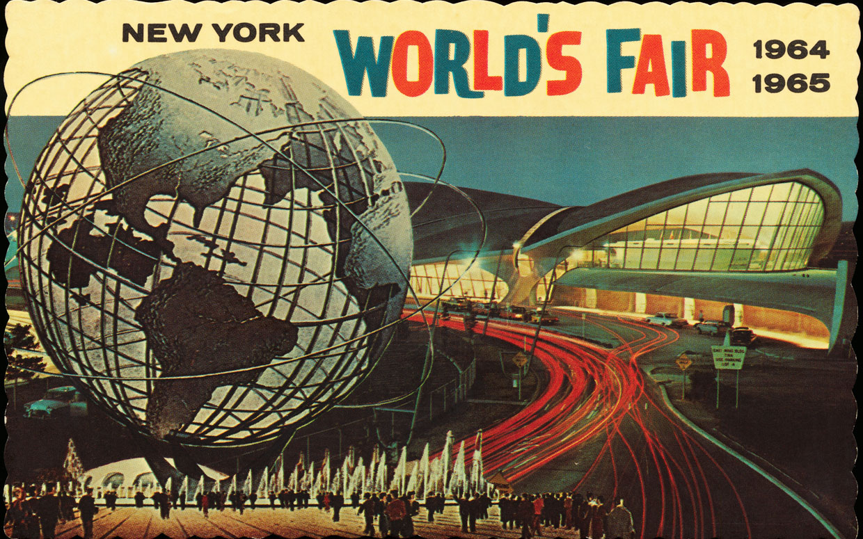 Postcard from New York World's Fair 1964-1965