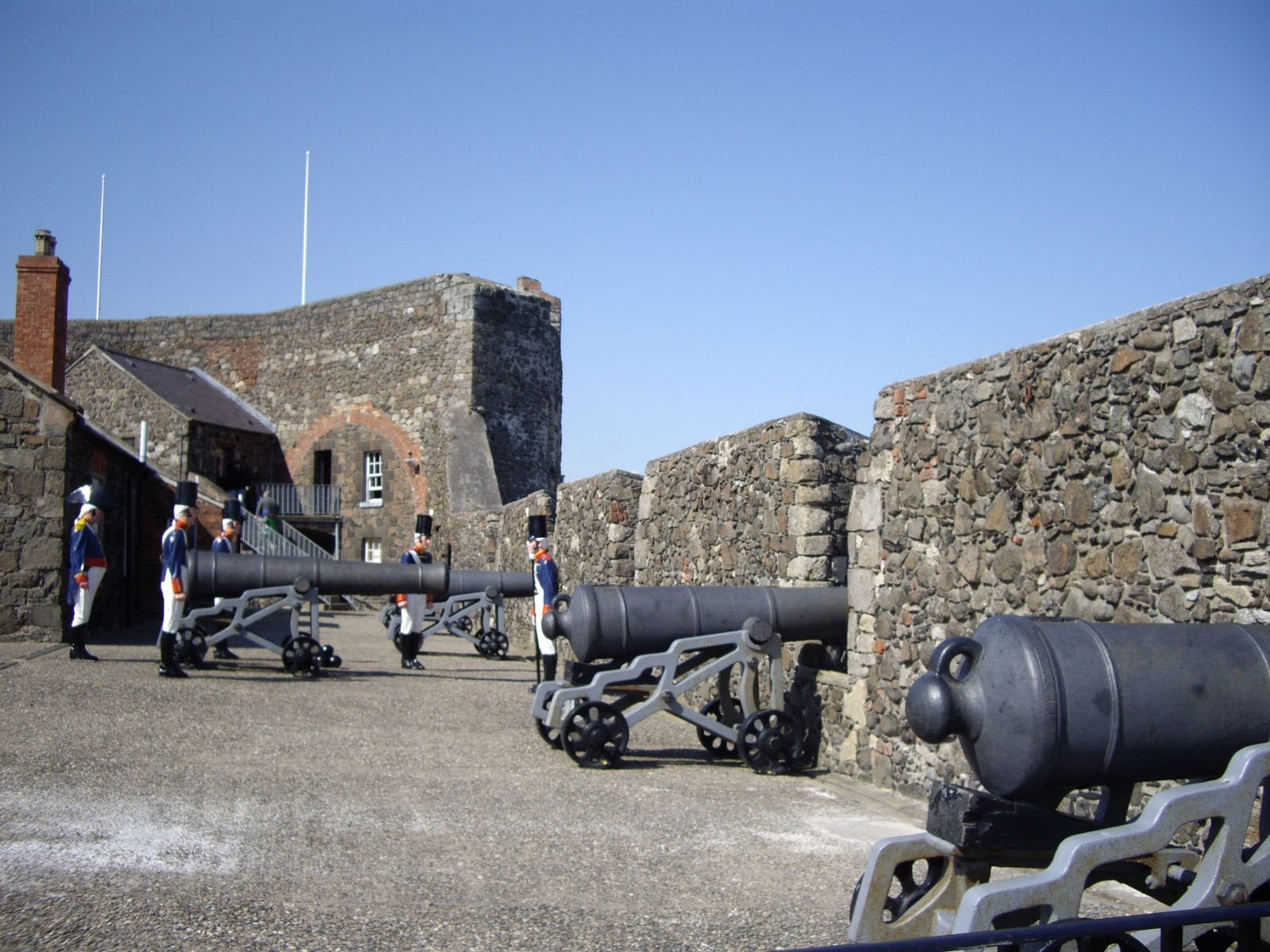 Gunports at Carrickfergus Castle.