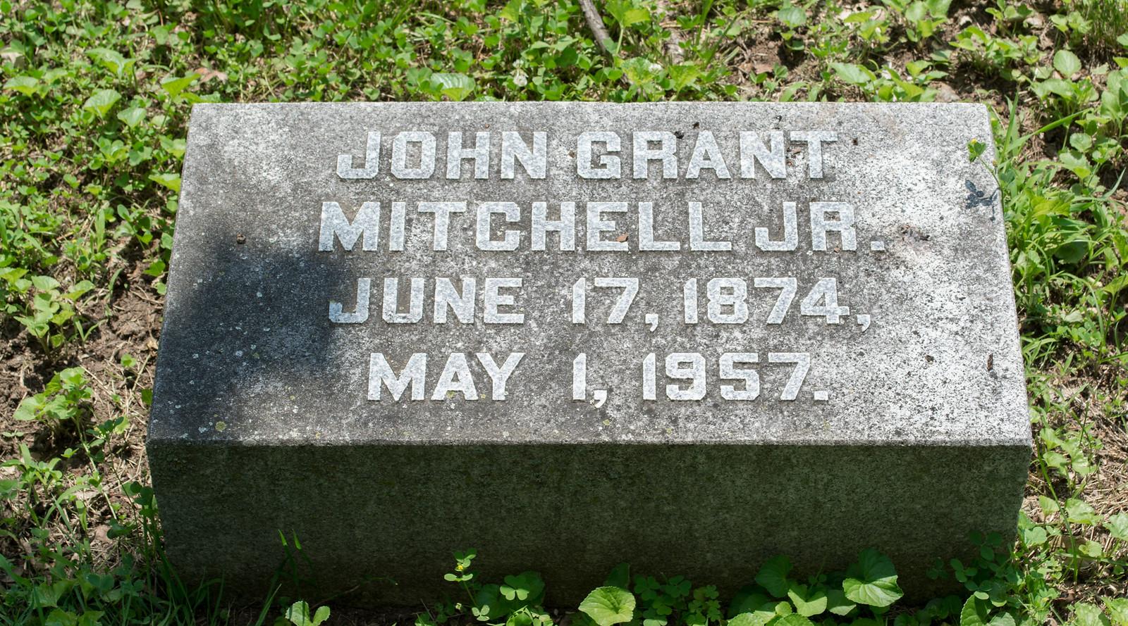 John G Mitchell Jr - Green Lawn Cemetery