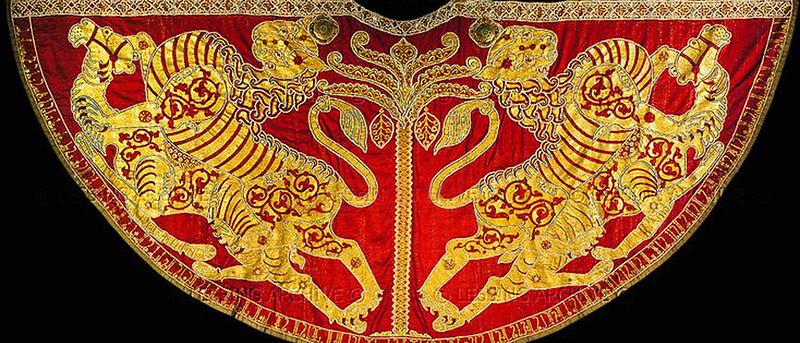 Coronation-Mantle-of-Roger-II-of-Sicily-Vienna-Austria