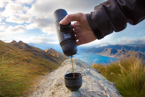 Take Your Espresso On the Go With the Portable MiniPresso GR | by Qorix