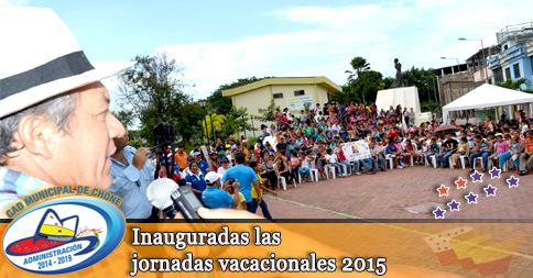 Inauguradas las jornadas vacacionales 2015