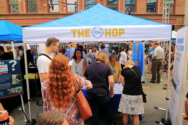 The Hop Information Booth