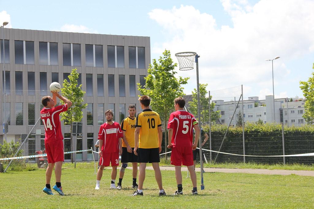 Korbball Nationalliga B 2018