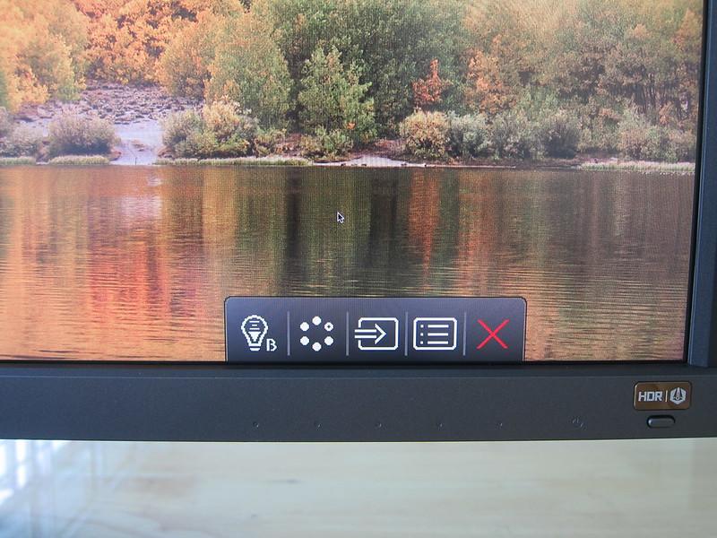 EW3270U - Menu Buttons