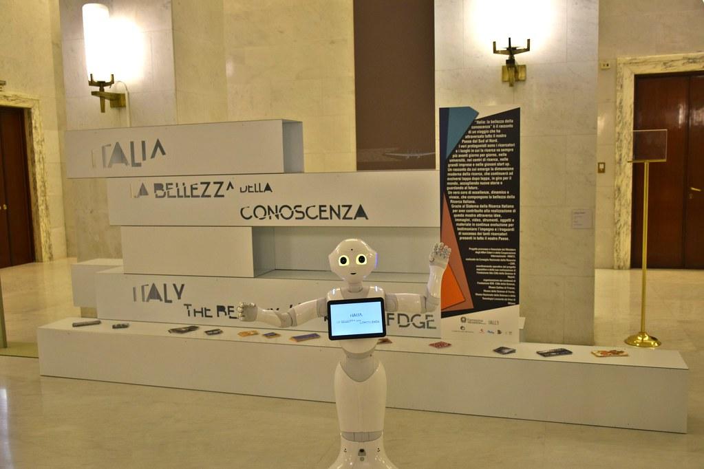 Inaugurata la mostra Italia: la bellezza della conoscenza
