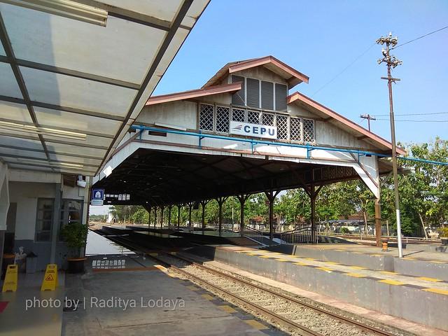 Stasiun Cepu (CU) dan Kereta Api Cepu dalam Sejarah 1/2