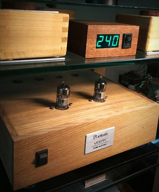 Woodvolt - Digital AC Voltmeter 41399713120_858d713356_z