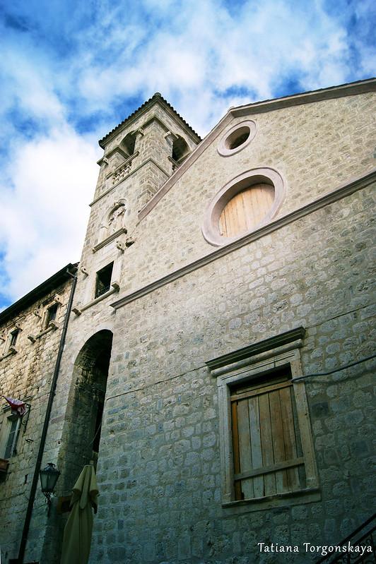 Церковь во время реконструкции