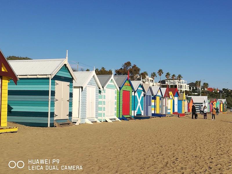 2017 Australia Melbourne Brighton Beach Bathing Boxes