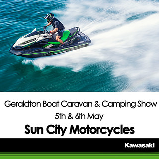 KAWASAKI DEALER EVENT – Geraldton Boat Caravan & Camping Show – 5th & 6th May