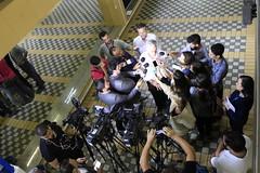 Secretário Municipal de Obras concede coletiva à imprensa