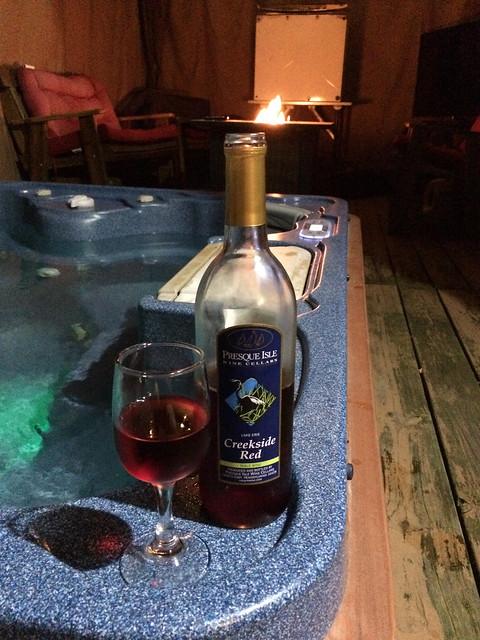 Presque Isle Wine Cellars Creekside Red