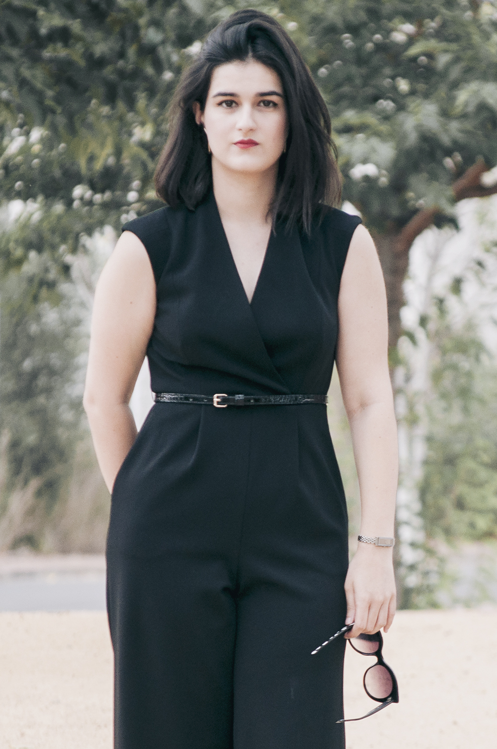 ootd somethingfashion valencia spain bloggers influencers calvinklein totalblack dresses summer lookdujour_0089 copia