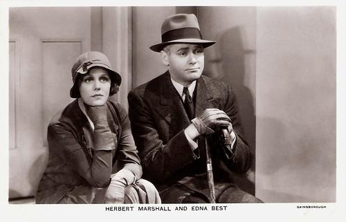 Edna Best and Herbert Marshall