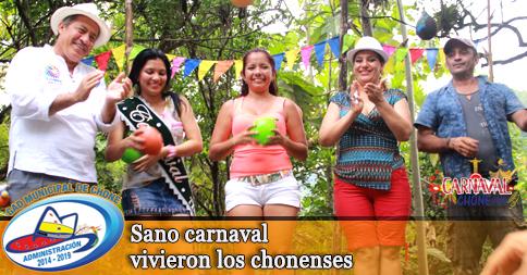 Sano carnaval vivieron los chonenses