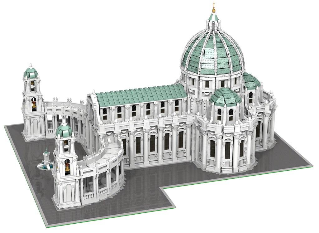 Moc Baroque Cathedral Lego Town Eurobricks Forums