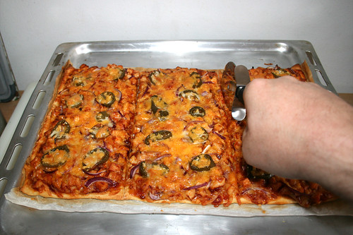 21 - Pizza zerteilen / Divide pizza