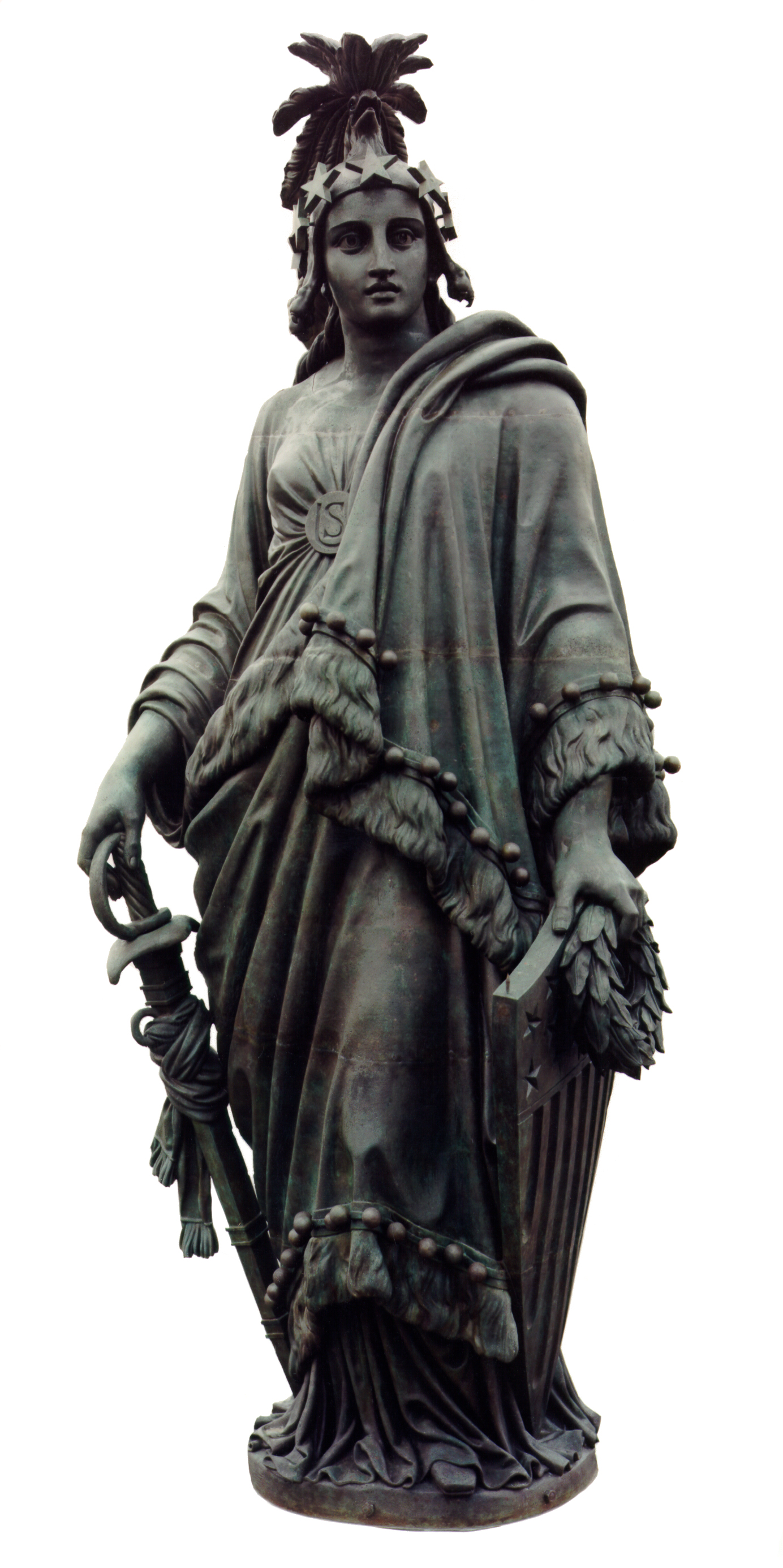 Statue of Freedom. Photo taken by The Architect of the Capitol, June 9, 2004.
