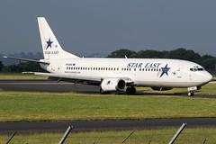 YR-SEB / Star East Airlines / Boeing 737-484