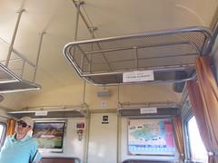 Interior del vagó del Tren Vermell - Estació de Ribesaltes - Photo of Cases-de-Pène
