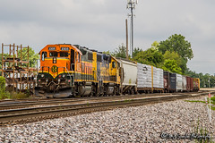 BNSF 2305 | EMD GP38-2 | BNSF Thayer South Subdivision