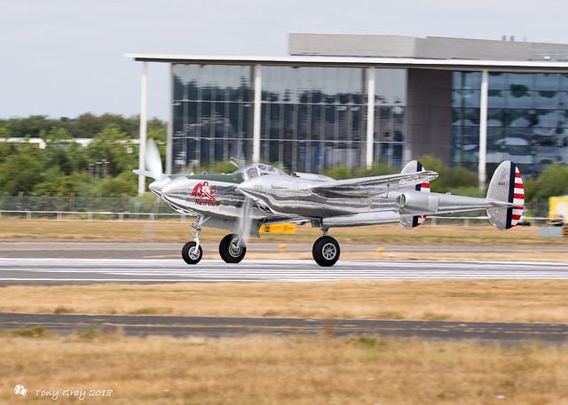 P-38 Lightning (The Flying Bulls)