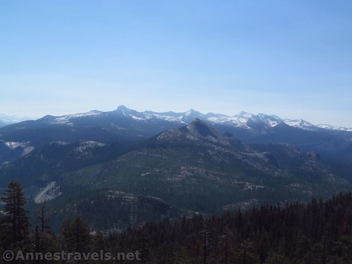Mount Starr King and the High Sierras from Sentinel Dome, Yosemite National Park, California