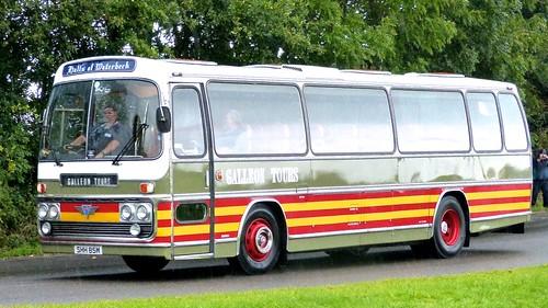 SHH 85M 'Galleon Tours'. AEC Reliance / Plaxton Elite on Dennis Basford's railsroadsrunways.blogspot.co.uk