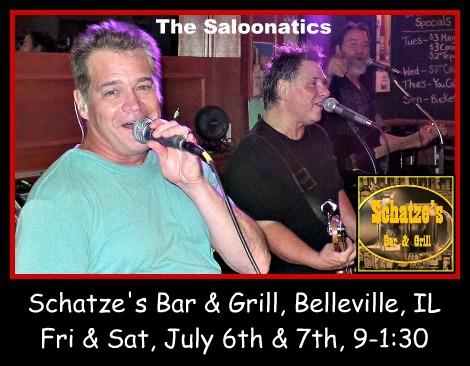 The Saloonatics 7-6, 7-7-18