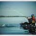 Kayak fishing in Scotland by Nicolas Valentin