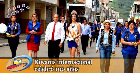 Kiwanis internacional celebró 100 años