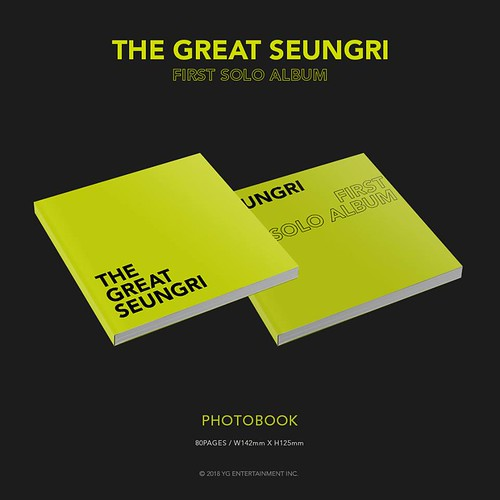 Seungri THE GREAT SEUNGRI Solo Album 2018 (5)