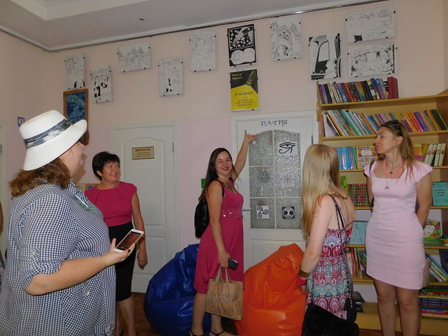 """Семінар """"Орієнтири молоді в літературі: класики і сучасники""""."""