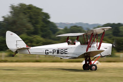 De Havilland DH.82A Tiger Moth G-PWBE - Aero Legends Ltd - Headcorn Ae