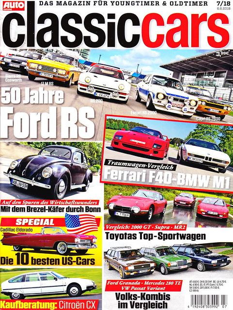 Auto Zeitung - Classic Cars 7/2018