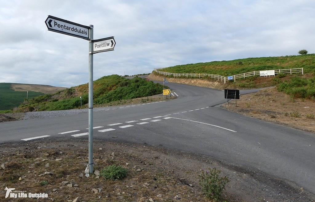 P1170605 - Route of the Mynydd y Gwair wind farm access track