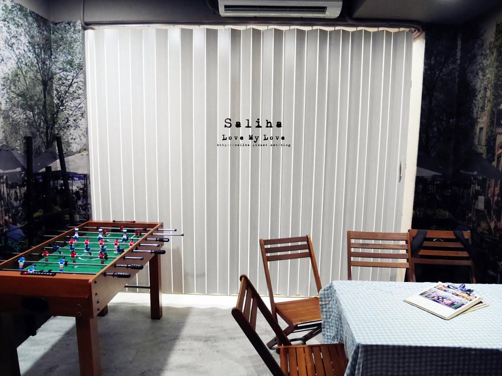 台北捷運公館台電大樓站附近可以玩桌遊餐廳推薦中央公園咖啡館 (4)