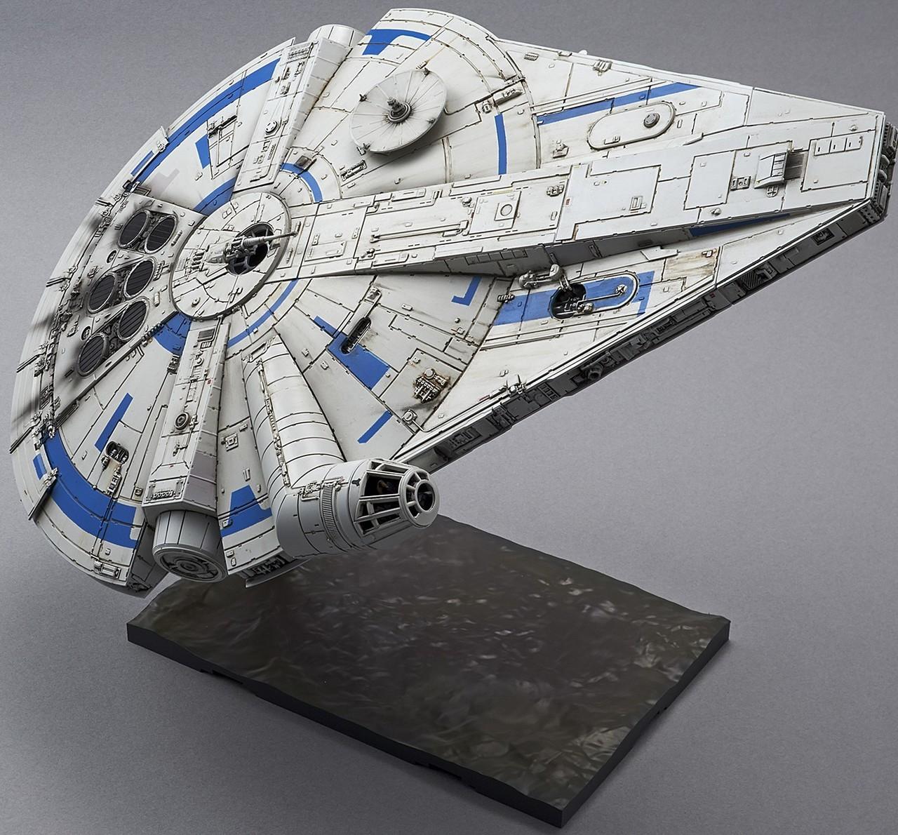 Falcon Lando 144 Bandai 01
