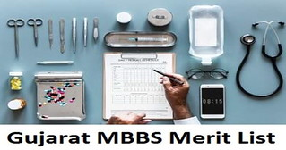 Gujarat MBBS Merit List