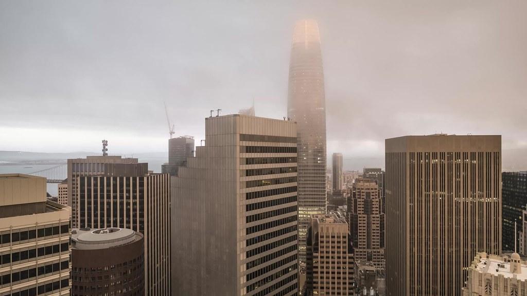 Salesforce Fog Time Lapse
