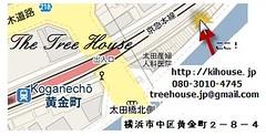 黄金町の地図