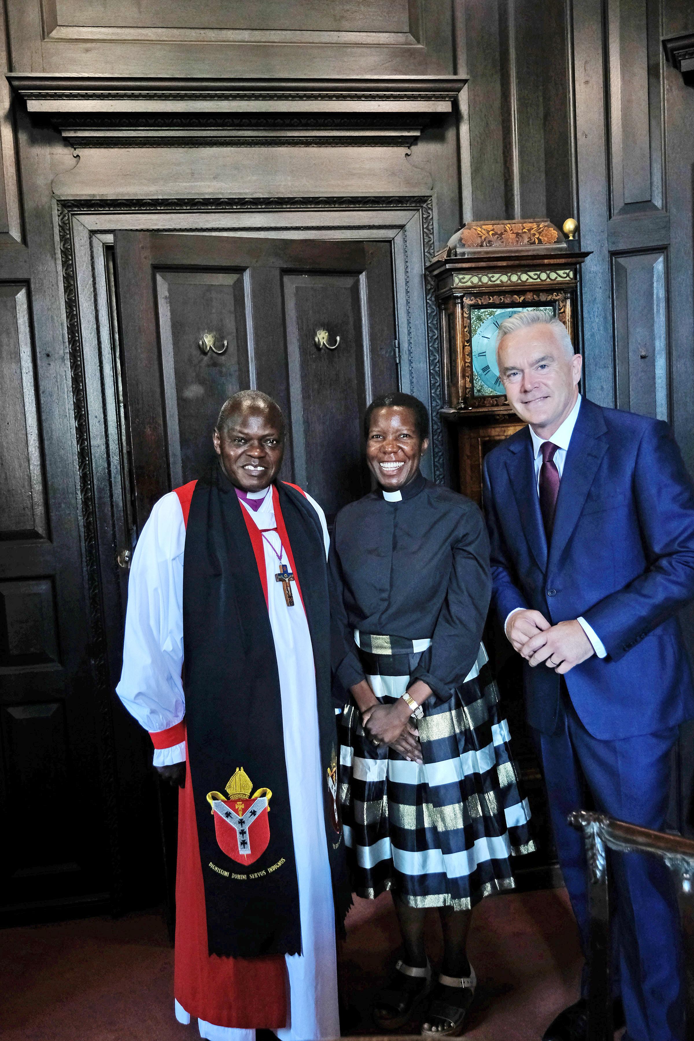 Archbishop of York, Rev Grace Sentamu-Baverstock, Huw Edwards
