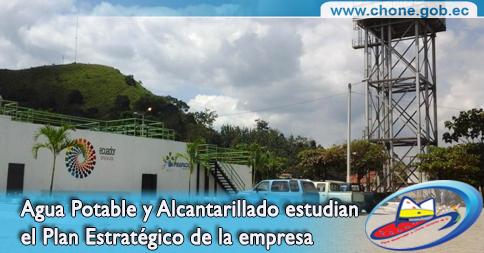 Agua Potable y Alcantarillado estudian el Plan Estratégico de la empresa