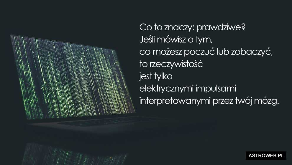 Żyjesz w Matrix