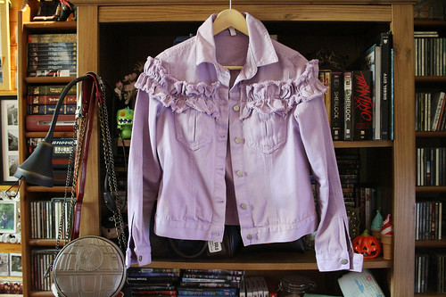H! by Henry Holland - lilac denim jacket